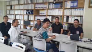 品質マニュアル改定会議写真